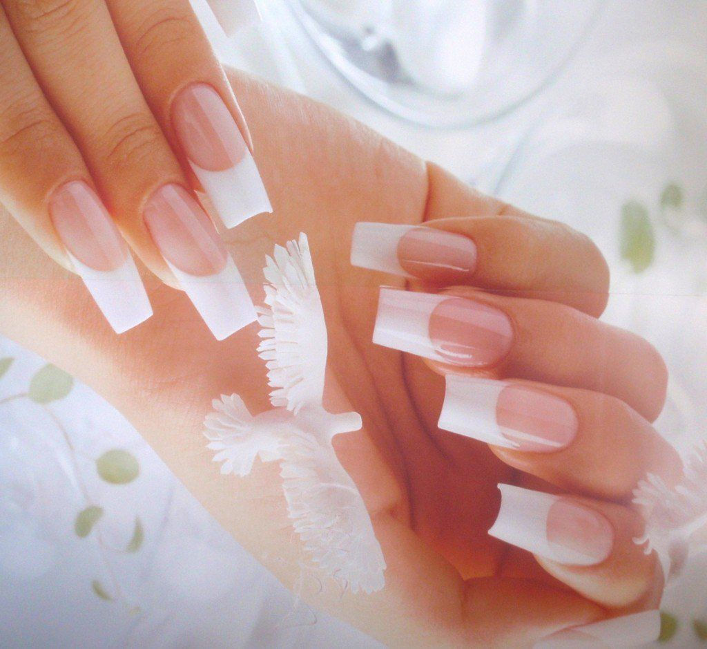 Perfect French Manicure With Gel Or CND Shellac Nail Polish: An At ...