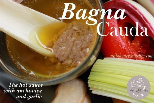 Bagna Cauda | Recipe | Rum, Milk and Recipe