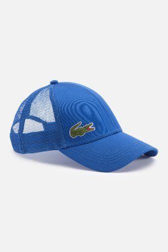 Lacoste trucker hat in white  d72c4f1998a