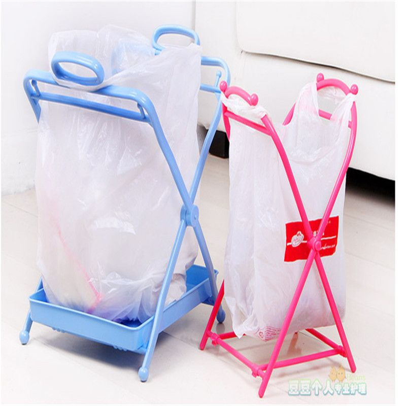 Charming Home Fashion Household Trash Rack Kitchen Storage Rack