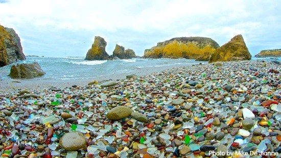 The Best Sea Glass Beaches In The United States Sea Glass Beach