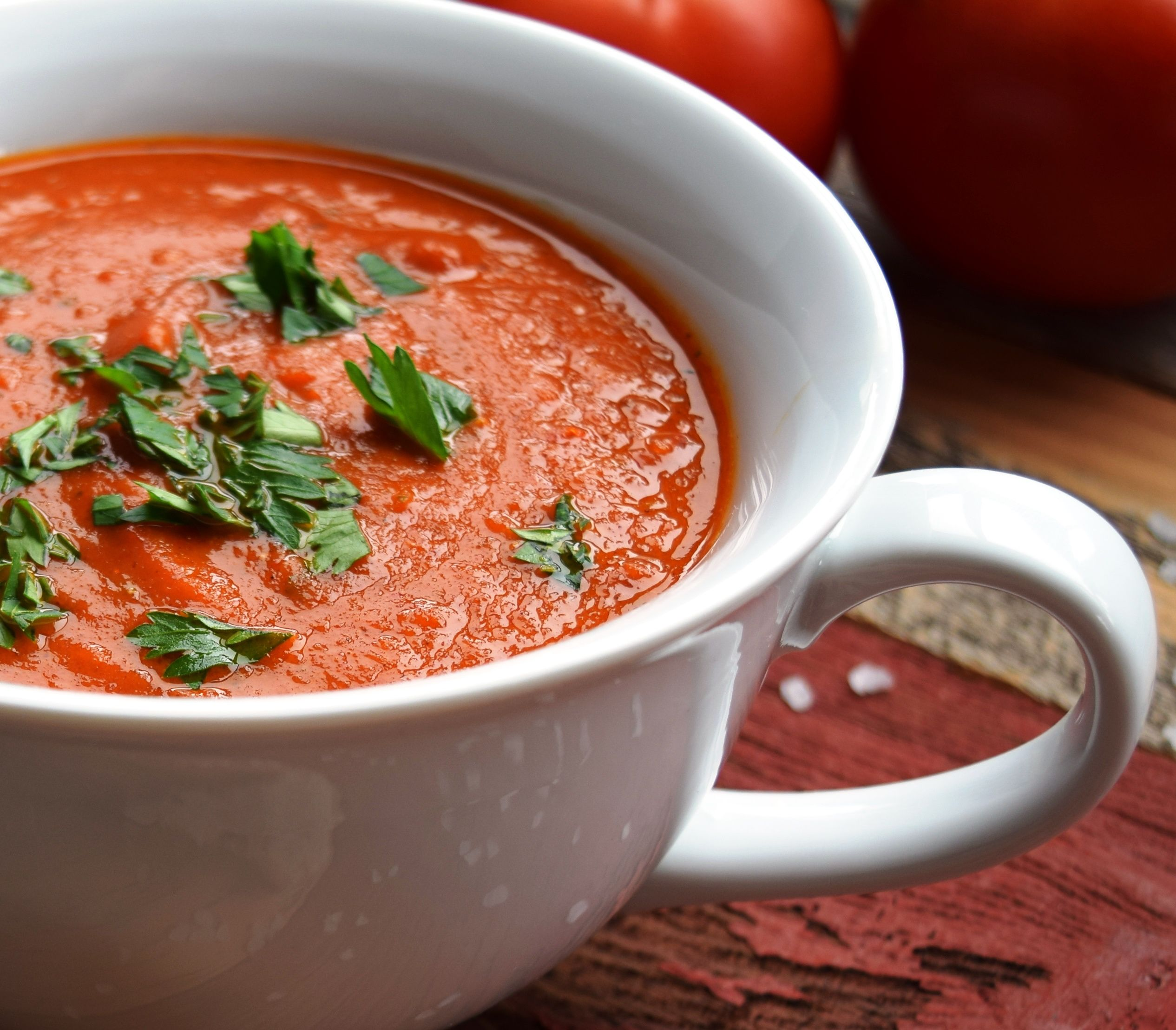 Диета на супе из томатного сока