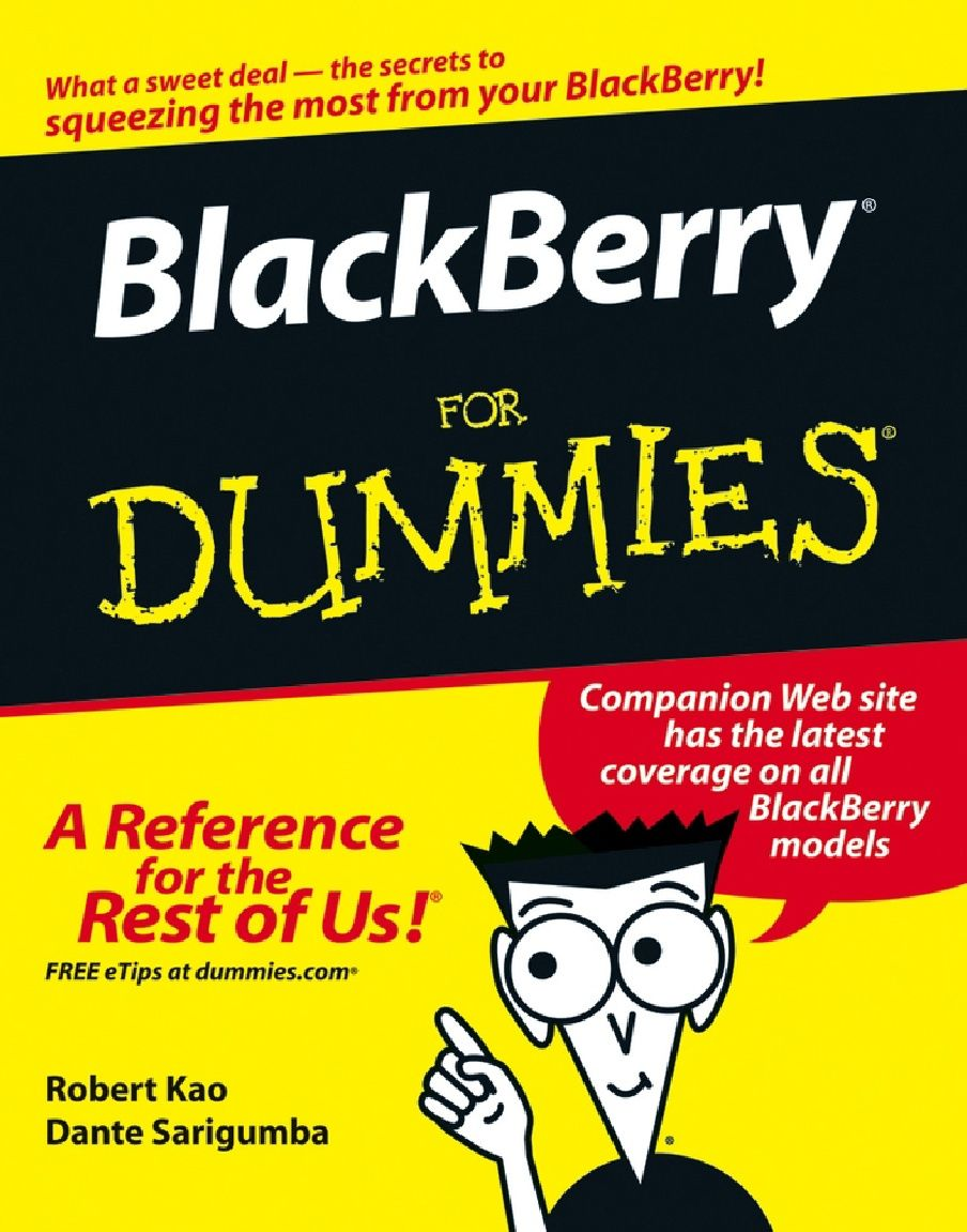 Free download - BlackBerry for Dummies