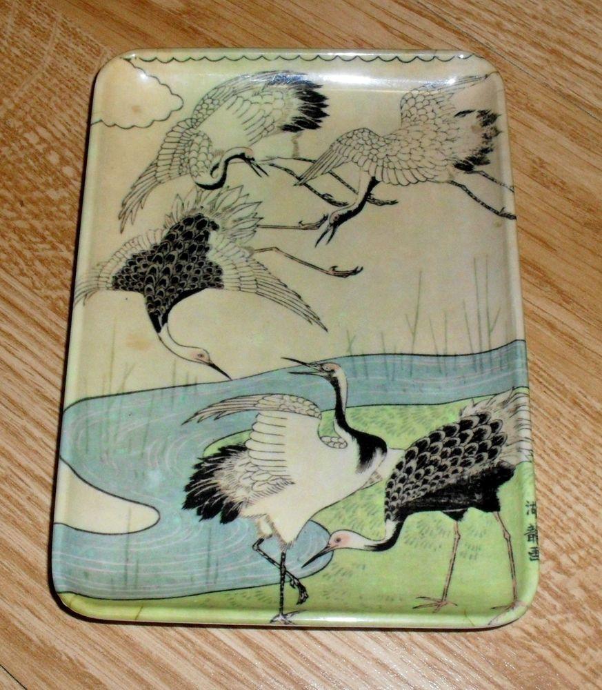 Details About Michel Delacroix Melamine Tray Decorative Crafts Inc