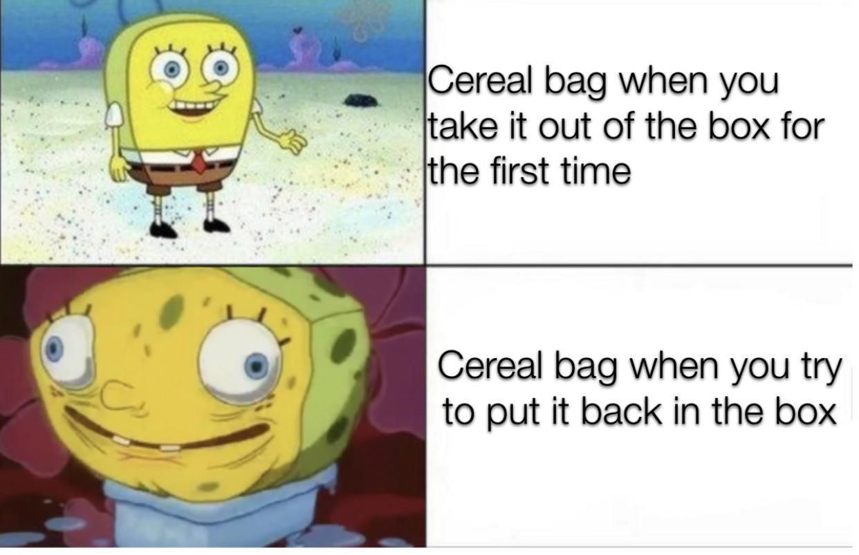 Thicc bag | /r/BikiniBottomTwitter | SpongeBob SquarePants