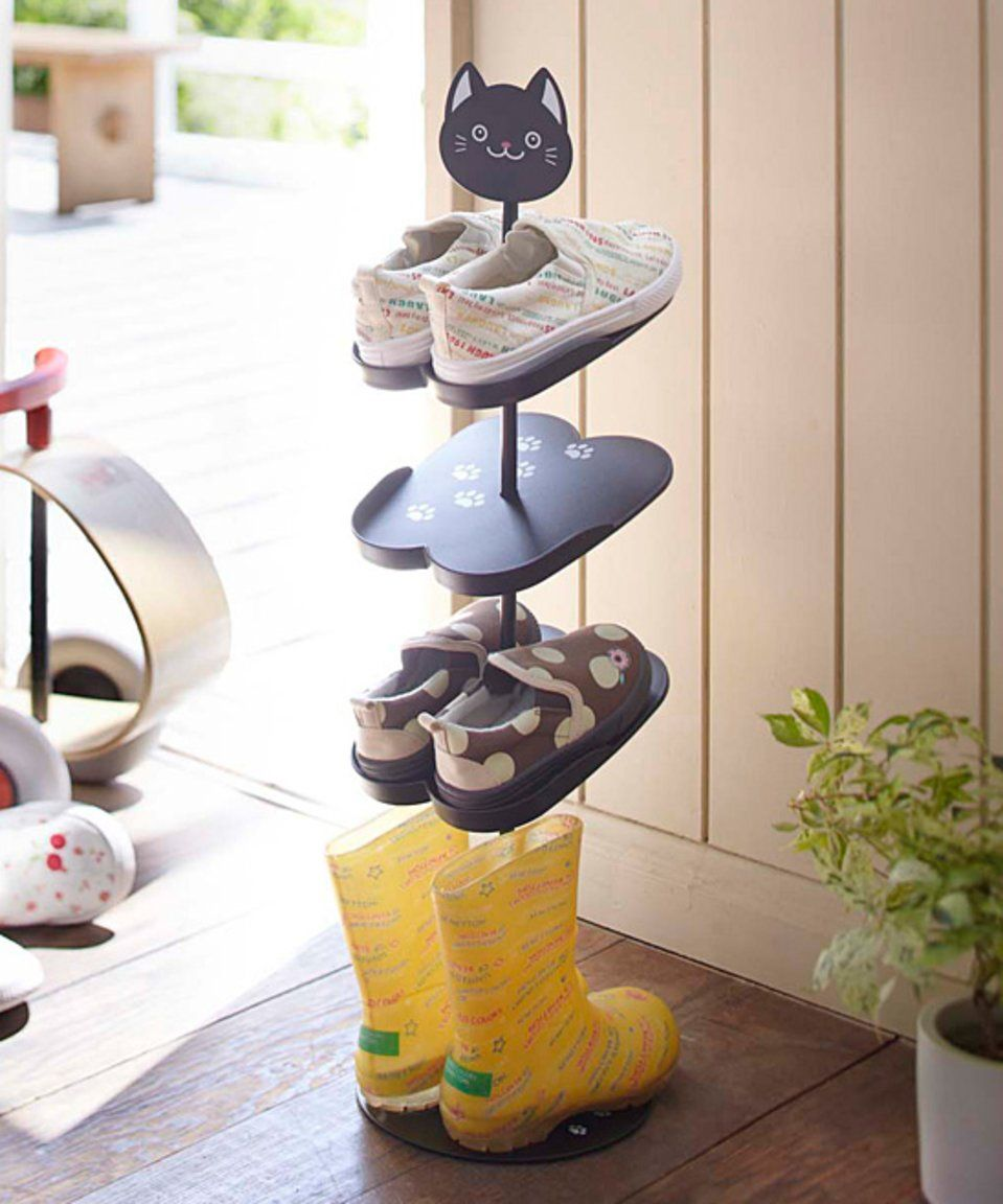 Take a look at this kitten kids shoe rack today babes and todlers