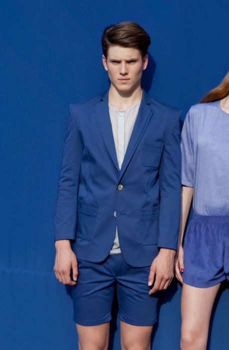 Suits me right (via COUTE QUE COUTE: HIEN LE SPRING/SUMMER 2012 COLLECTION MEN/WOMEN / CAMPAIGN SHOT BY AMOS FRICKE)