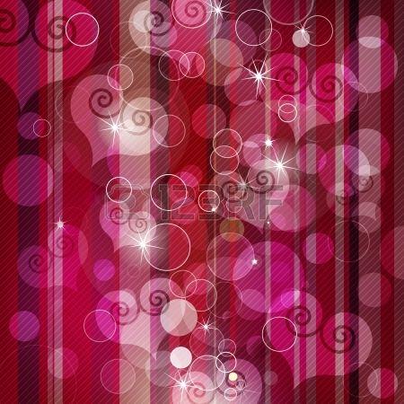 Vector sch ne Herzen Lens Flare Hintergrund Illustration Lizenzfreie Bilder