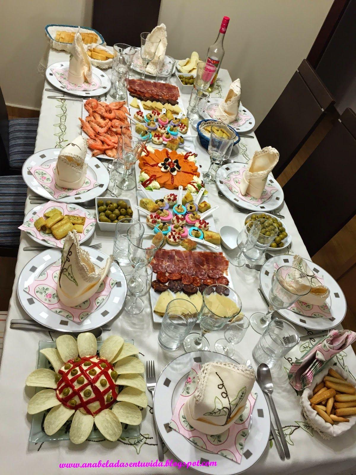 Anabeladas como decorar la mesa en navidad y fin de a o - Como adornar la mesa en navidad ...