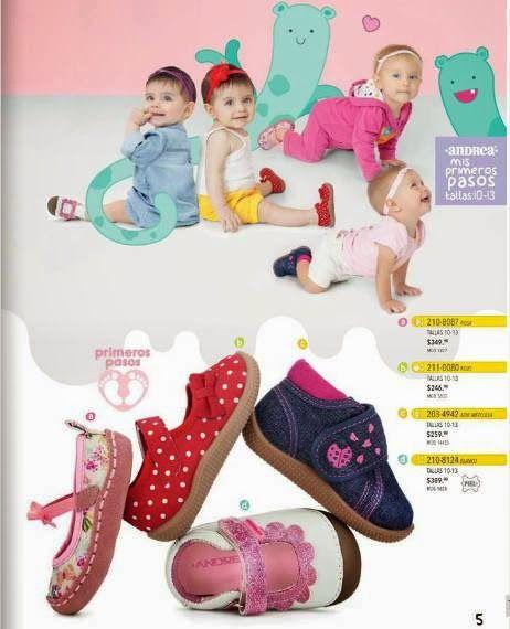 4bcd56253830 Andrea Kids: Zapatos para niñas primavera 2015 - Andrea | Catalogos ...