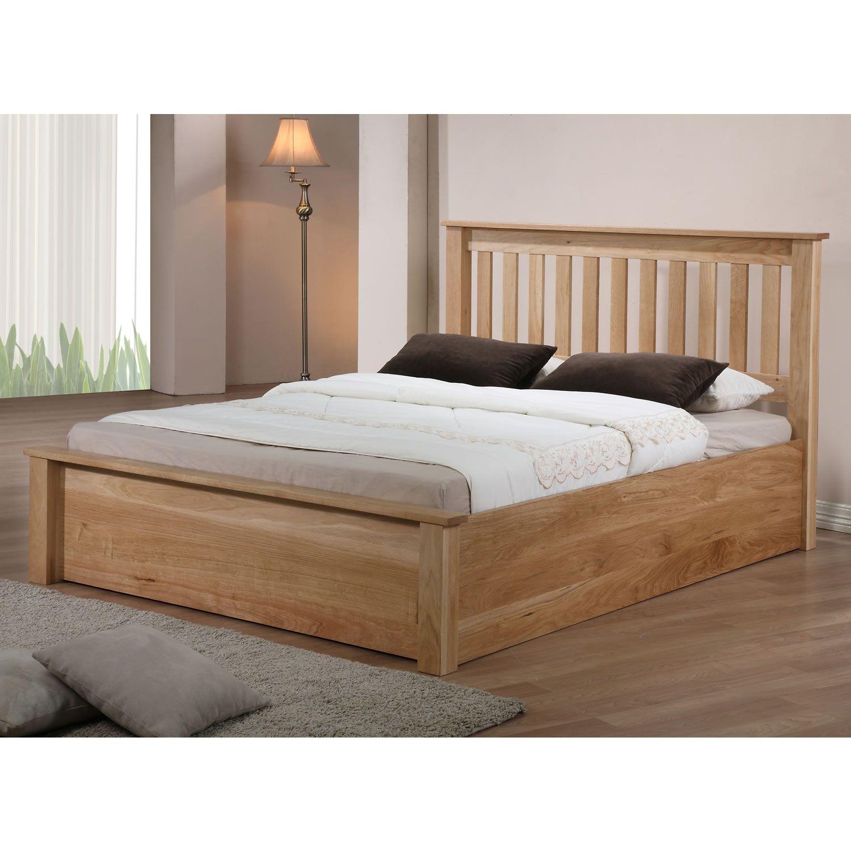 Amelia Solid Oak Ottoman Bed A | huscy house stuff!! | Pinterest