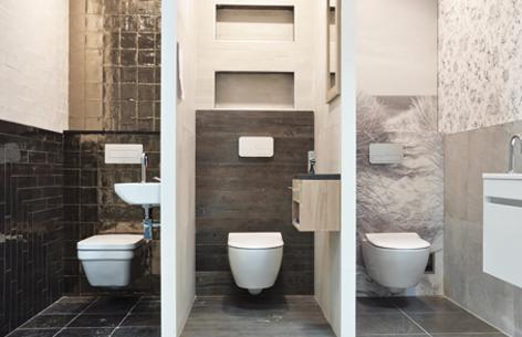 Toilet voorbeelden showroom Versani | badkamer | Pinterest