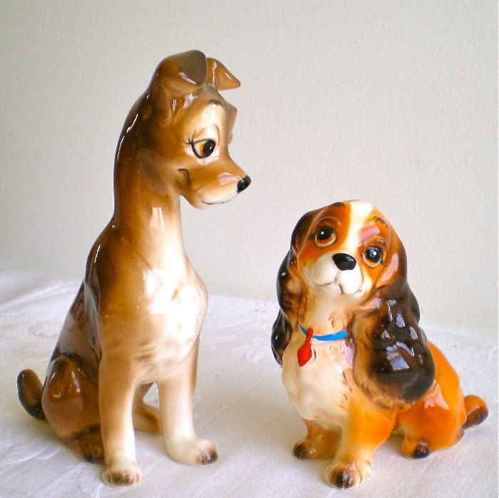 Disney Lady and the Tramp Character Figure ....Tramp