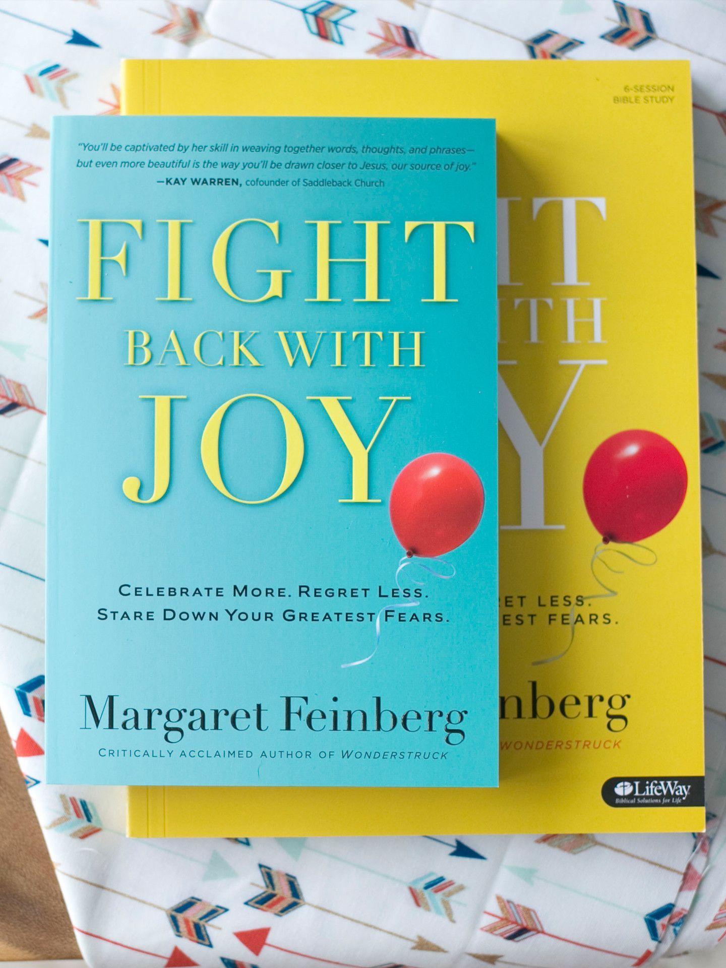 Fight back with joy book workbook combination workbook