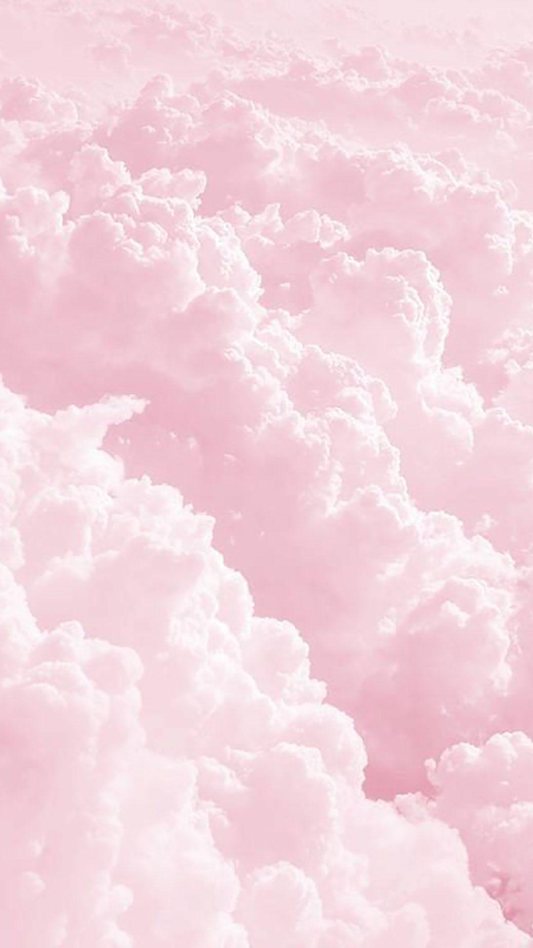 Wallpaper Ponsel Iphone Pink Wallpaper Ponsel Pink Clouds Wallpaper Cute Pastel Wallpaper Pastel Pink Aesthetic