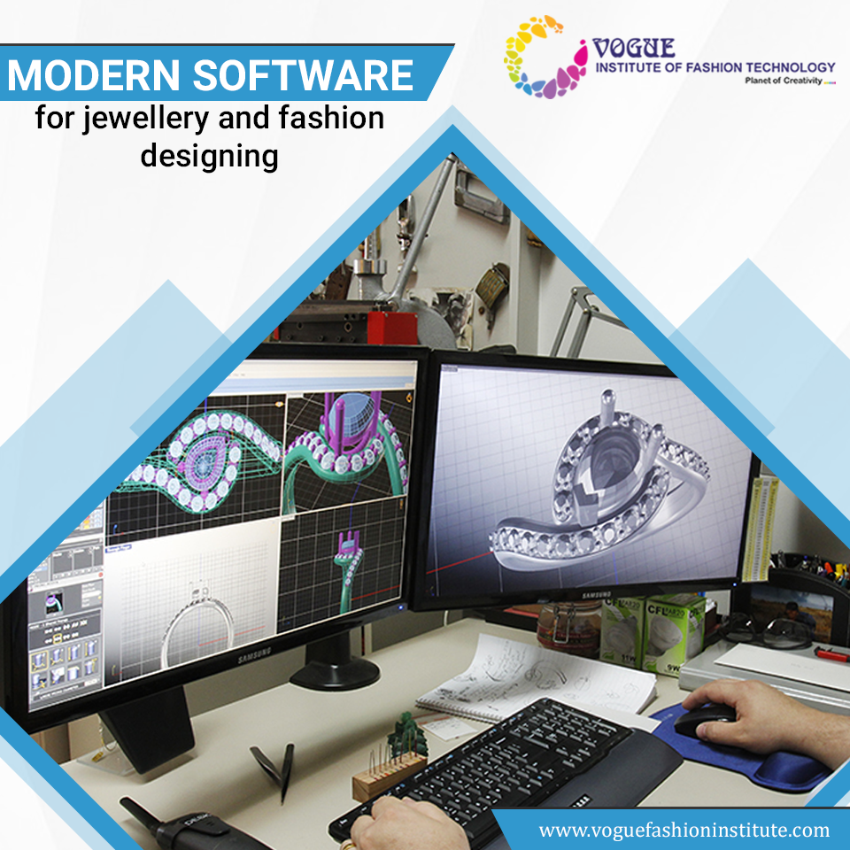 Vogue Institute Of Fashion Technology Has A Modern Laboratory Updated With The Latest Design Software Technology Fashion College Design Art And Design Colleges