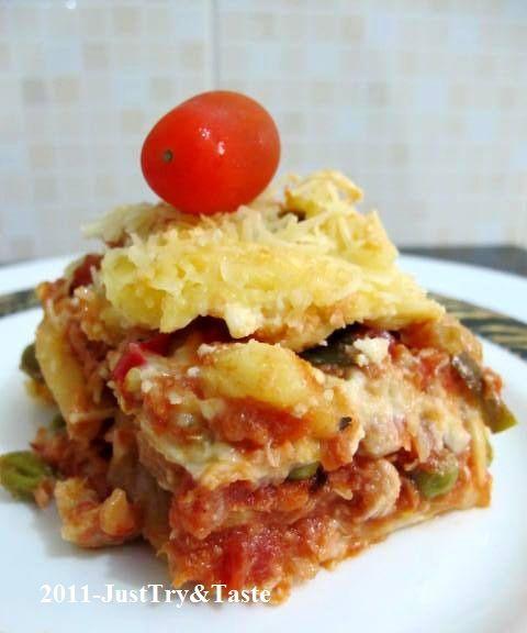 Resep Lasagna Tuna Nanas Kacang Polong Lasagna Kacang Polong Resep Makanan
