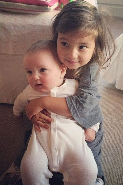 Ivanka Trump May 23, 2014 Ivanka Trump's daughter Arabella sure seems to love her baby brother Joseph. The siblings were caught hugging by t...