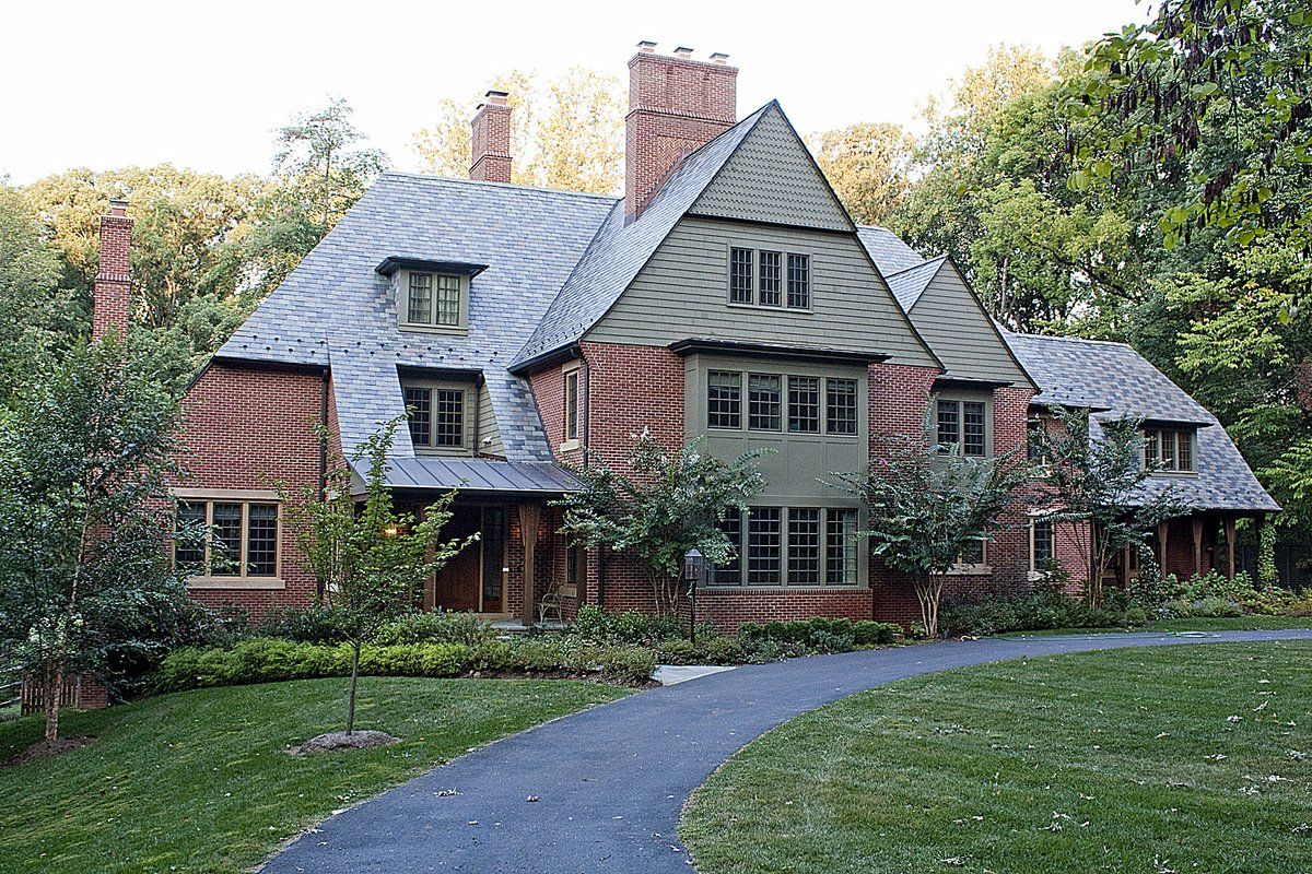 Ricchetti builders arts and crafts house architecture for Country craft house