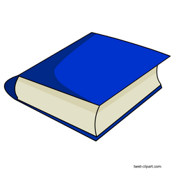 Free Blue Book Clipart Image With Transparent Background Book Clip Art Clip Art Free Clip Art