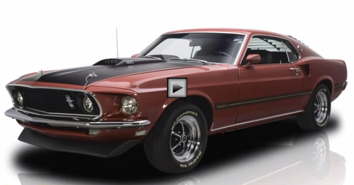 1969 Mustang Mach 1 Fastback 351 V8