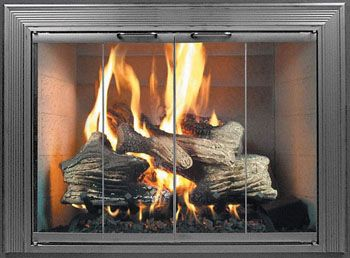 Thanks To Choosing The Right Fireplace Glass Door And We