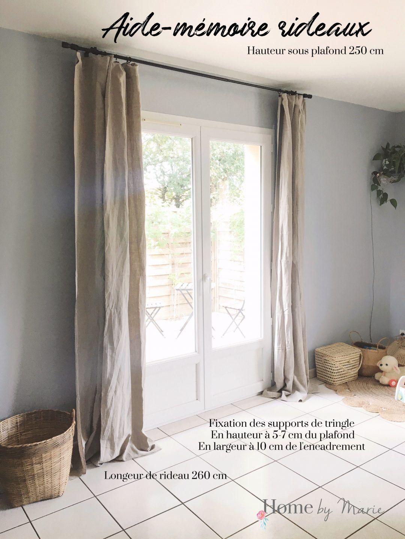 Bien Choisir Et Placer Ses Rideaux Dans Une Chambre Ou Un Salon Pour Une Decoration Moderne Et Cocooning Deco Rideaux Salon Rideaux Rideaux Chambre