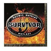 Survivor Beverage Napkins (16)