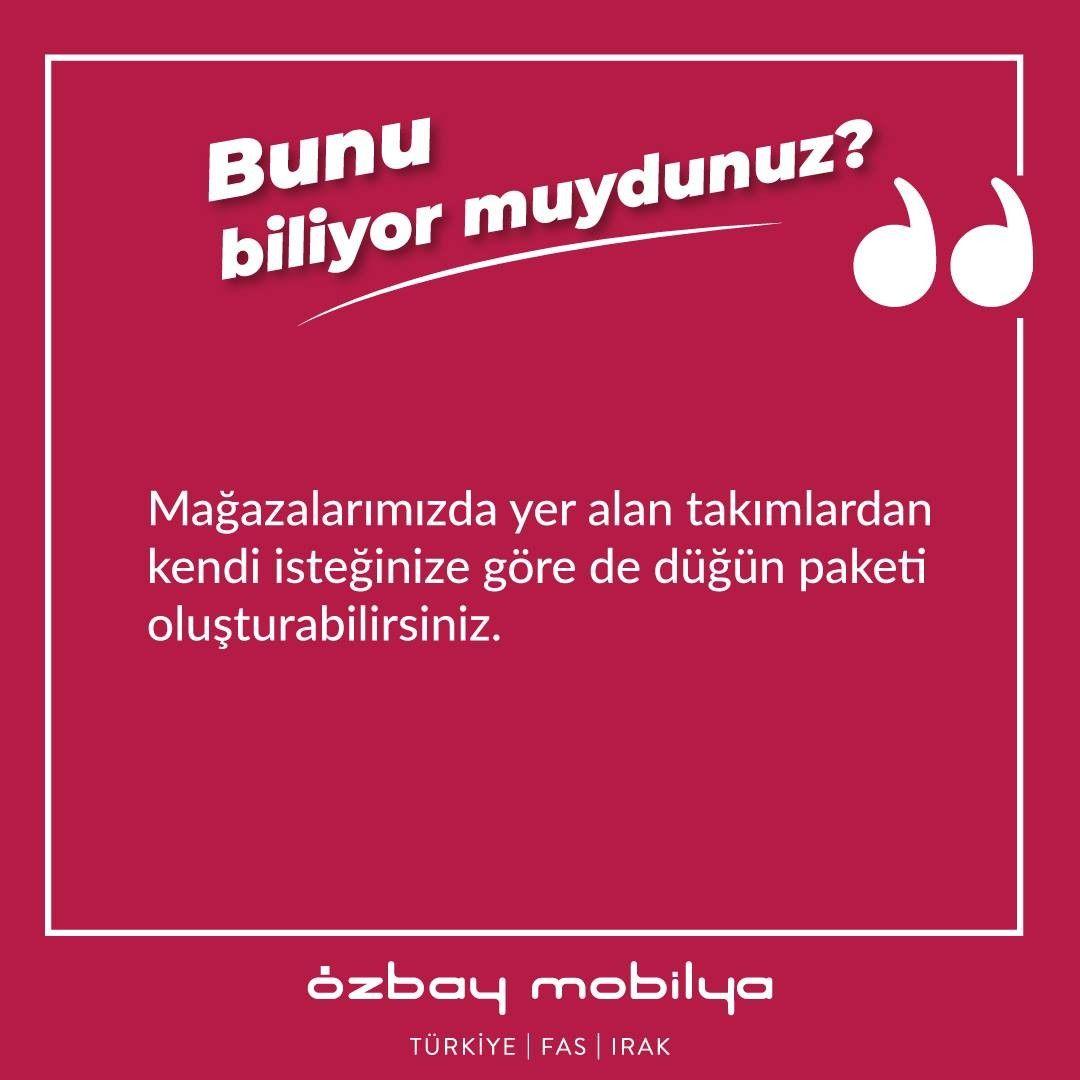 Kendi düğün paketini kendin oluştur. Mağazalarımızdaki takımlardan kendi istediğinize göre de düğün paketi oluşturabilirsiniz.  Whatssapp Destek 0532 163 44 90  #düğünpaketi #whatsapp #görüntülütanıtım #mobilya #kampanya #indirim #onlinesatış #alışveriş #türkiye #ankara #sitelerankara #koltuktakımı #düğün #moda #evdekor #çeyiz #home #modern #chesterkoltuk #lüks #furniture #içmimar #dekorasyon #tümdünyayakargo #enuygunfiyat #yatakodasi #yemekodasi #ev #yaşam #sitelermobilya www.