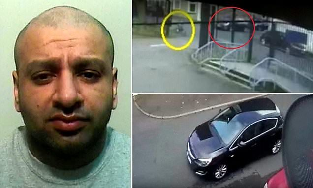 Child rapist Imran Khan is jailed after being caught on CCTV snatching girl in Burnley | Daily Mail Online