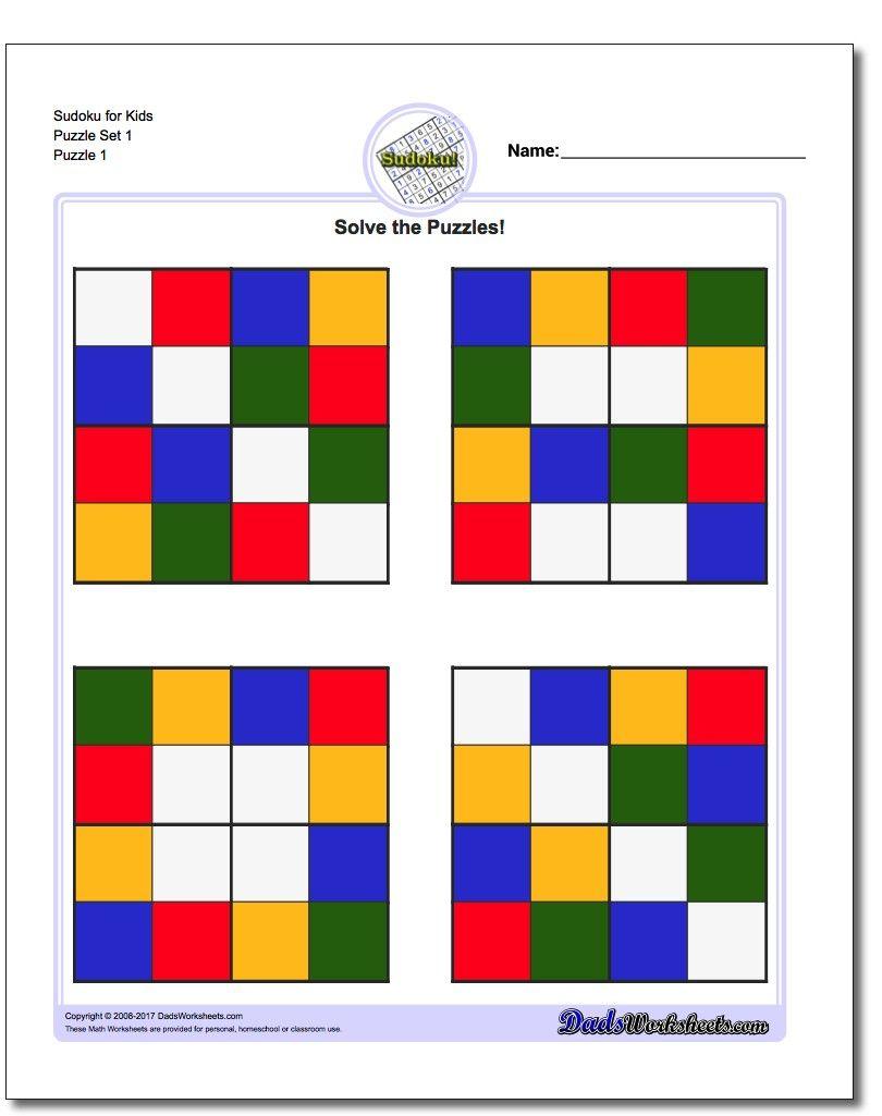 Pin by dadsworksheets on math worksheets pinterest math printable sudoku puzzles httpsdadsworksheetspuzzlessudoku ibookread PDF