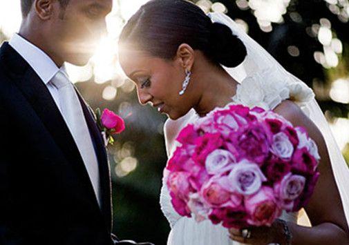 African American Wedding Hair Bridesmaid