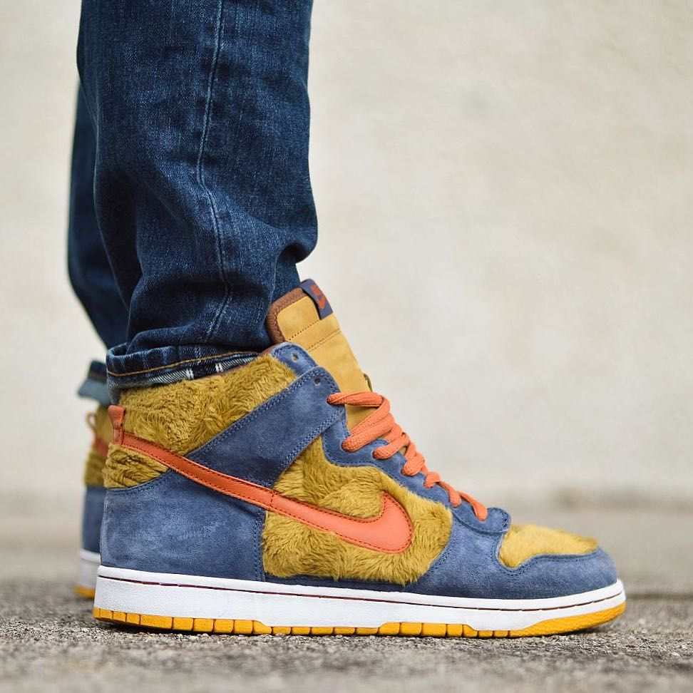 Nike SB Dunk High 3 Bears Pack