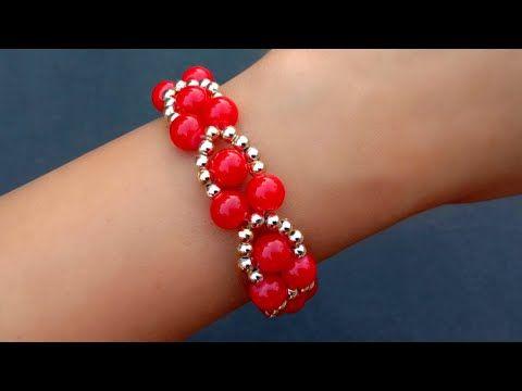 Photo of How To Make//Beads Bracelet//Bracelet Making Tutorial// Useful & Easy
