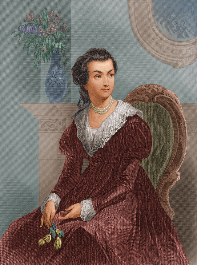 Portraits Of Abigail Adams As A Young Woman