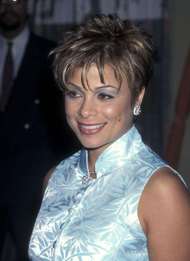 Paula Abdul 1996 Short Hair Styles Hair Styles 90s