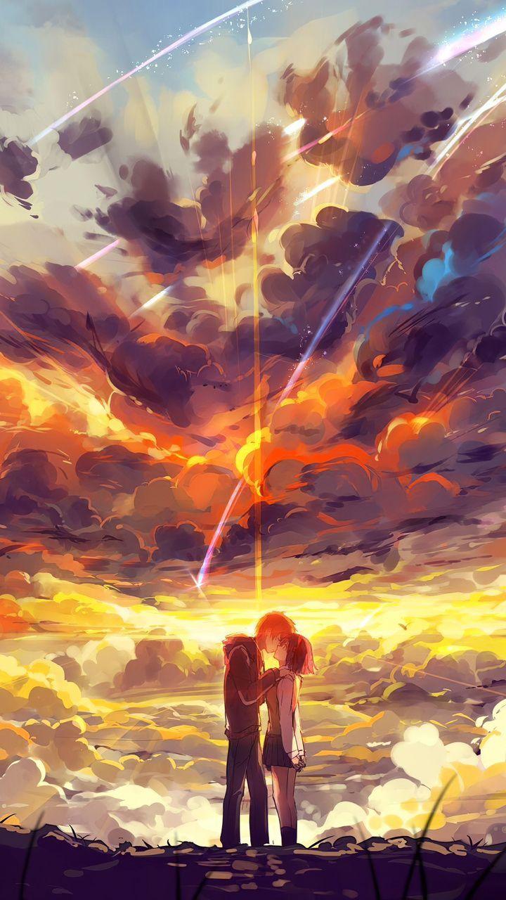 Kimi No Nawa Anime Couple 5k Wallpapers | hdqwalls.com