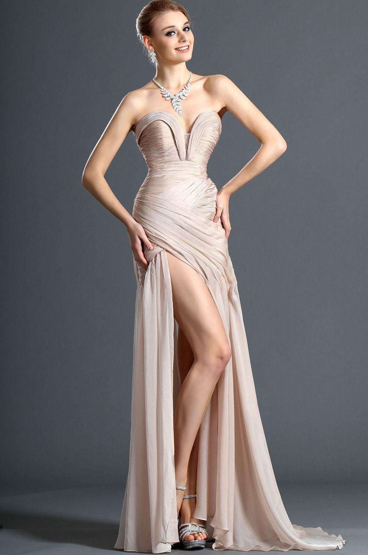 Edressit Chiffon Ruched Bodice Evening Dress Long Chiffon Evening Dress Evening Dresses Prom Summer Prom Dress [ 1500 x 996 Pixel ]