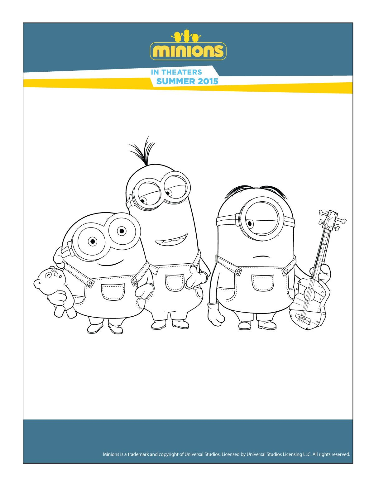 Play Fun Games Minions Minion Coloring Pages Goodies Maze Plays Art Drawings Home Ideas Treats