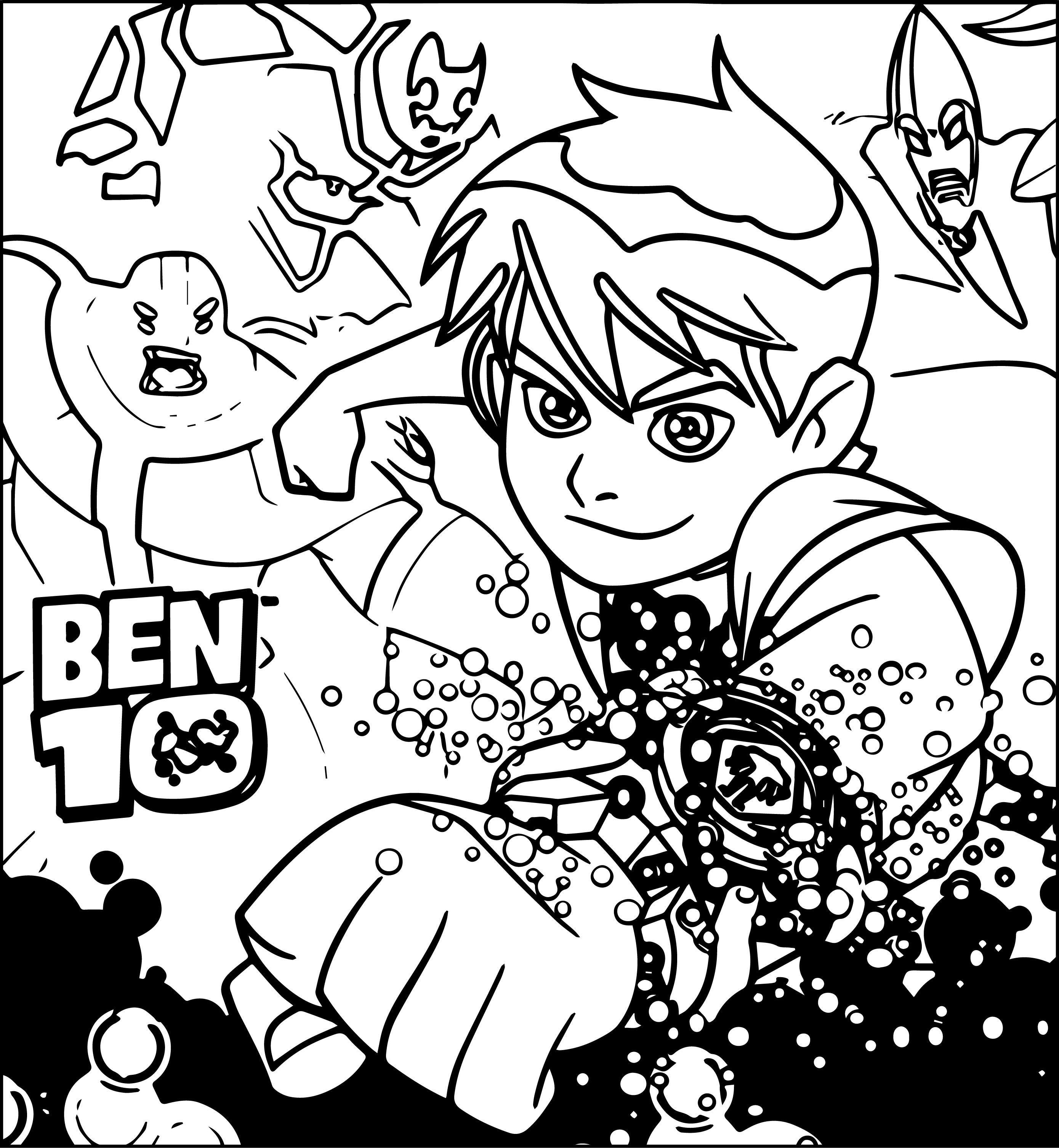 Benten Ben10 Coloring Pages