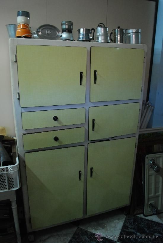 Mueble de cocina retro home shopping pinterest - Muebles cocina vintage ...