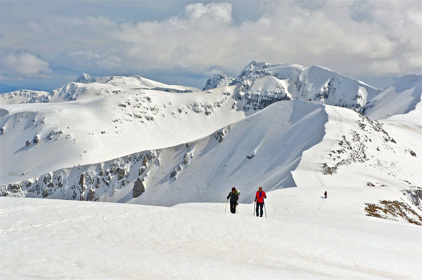Che panorama mozzafiato! Nelle nostre montagne, sport e divertimento per tutti i gusti! è tempo di bellissime sciate e favolose ciaspolate. Andiamo? Foto di @Angelo Monti