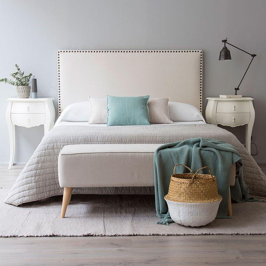 Nao cabecero tapizado my home pinterest cabecero - Dormitorios con cabeceros tapizados ...