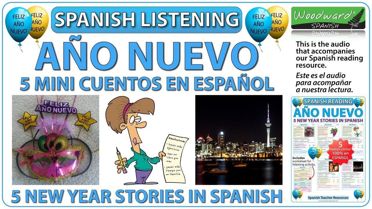 Cuentos del Año Nuevo 5 New Year Stories in Spanish