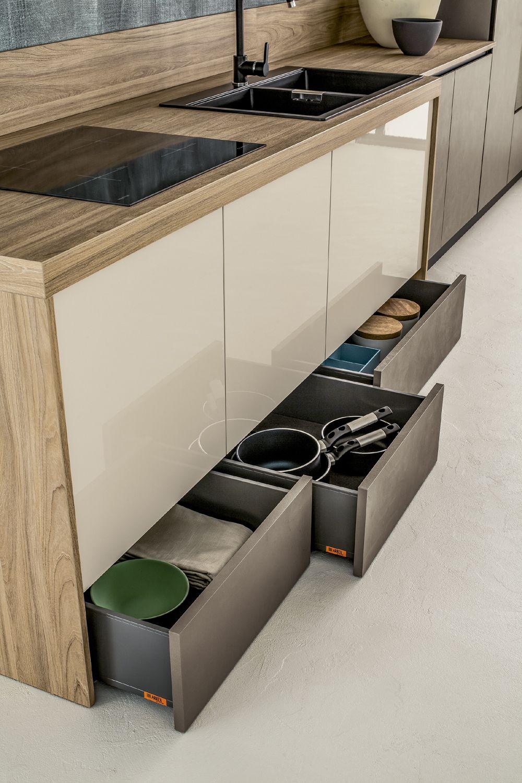 Arrex Le Cucine: cassetti belli e funzionali per la tua cucina ...