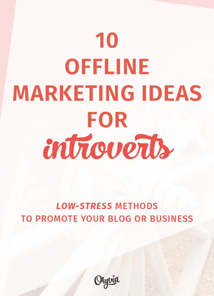 10 introvert friendly offline marketing ideas for your blog 10 offline marketing ideas for introvert bloggers business owners yes you can promote yourself without the sweaty palms tummy butterflies solutioingenieria Images