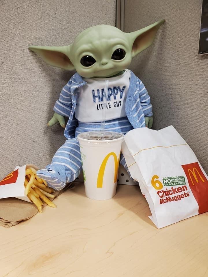 Pin By Nick Stambo On Baby Yoda Funny Star Wars Memes Anime Boyfriend Yoda Meme