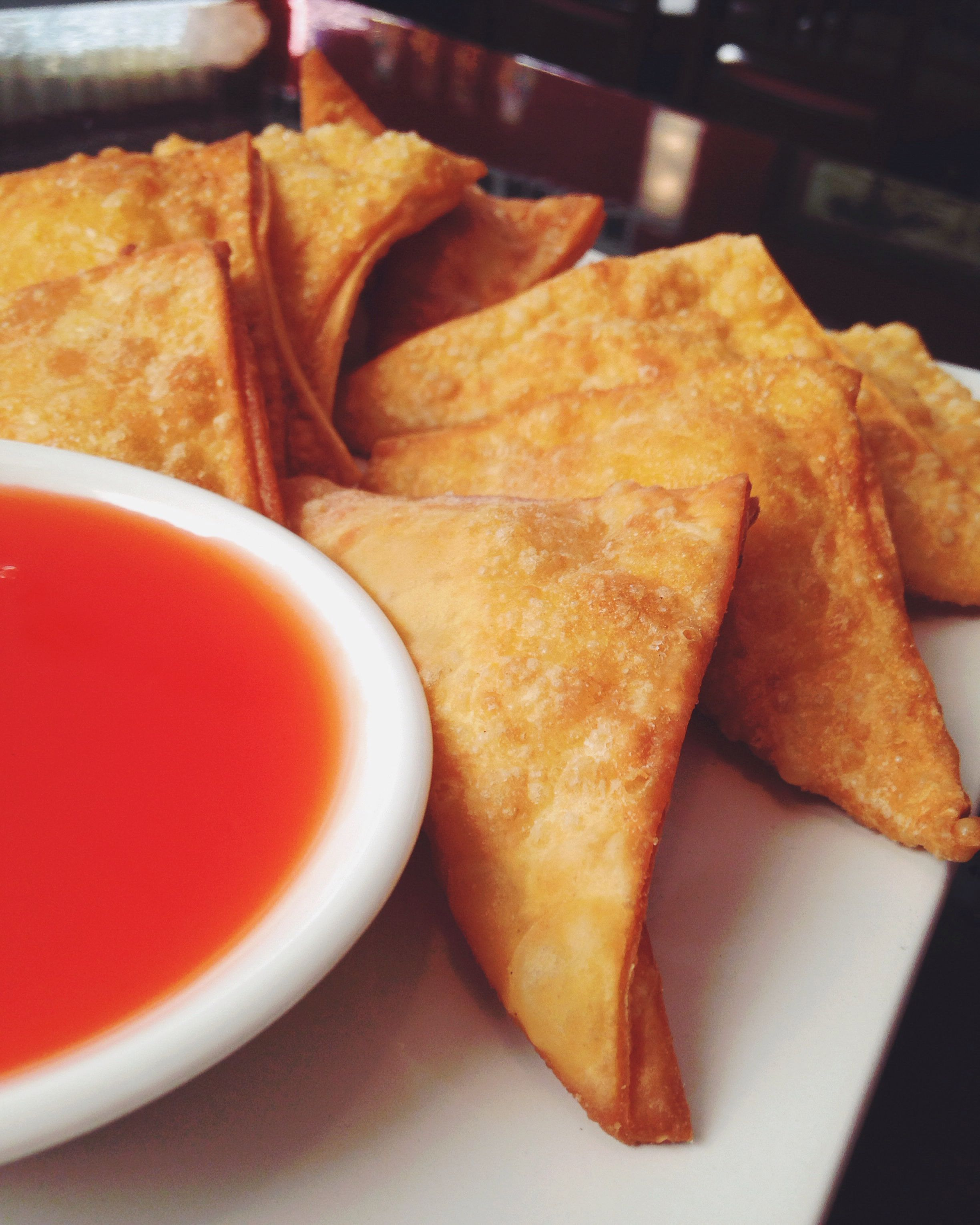 crab rangoons- asian delight gloversville, new york | dining out