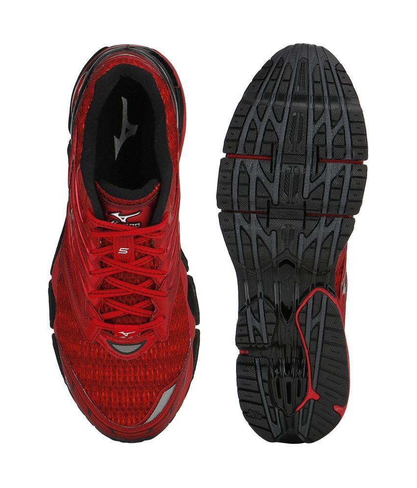 c976f813 Buy Mizuno Wave Prophecy 5 Running Shoes (Red, Black) At Rs 9000 Lowest  price Online India From Snapdeal. Get 50% Discount On This Sports Shoes, ...