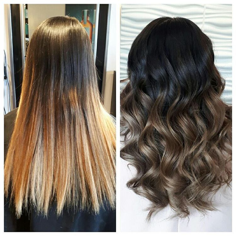 Balayage Isnt Just For Blondes Bronde Balayage Done By Tina